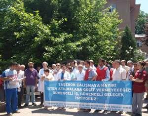 Çapa işçileri 13 Haziran