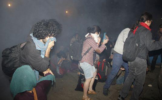 Taksim Gezi Parkina polis mudahalesi n