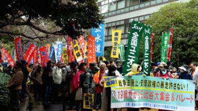 Japonyada kitlesel eylemler