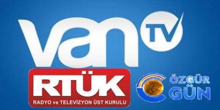 özgür gun tv van tv ceza