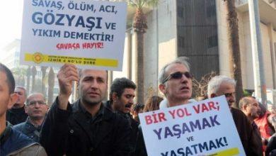İzmirde Eğitim Sen üyelerine operasyon