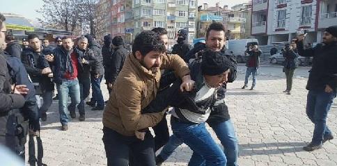 KESK üyelerine polis saldırısı