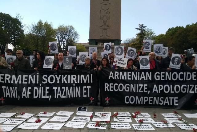 Ermeni soykırımı ilk etknliği