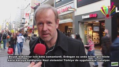 almanya halki erdogani taniyor