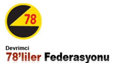 devrimci 78liler federasyonu