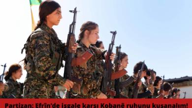 GÜNCELLENDİ Partizan Efrîn açıklaması 678x381