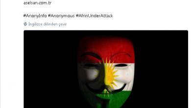 Photo of Anonymous ASELSAN'ı hackledi