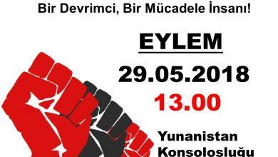 """Photo of UPOTUDAK   """"Bir devrimci, bir mücadele insanı Turgut Kaya'ya özgürlük"""""""