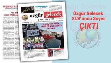 Photo of Özgür Gelecek sayı 219 çıktı!