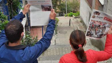 """Photo of """"Dayanışma yaşatır gerçekler özgürleştirir"""" Kampanya çalışmaları Gülsuyu'nda devam ediyor"""