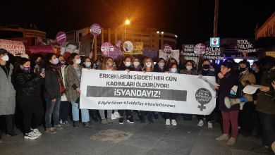 """Photo of """"Aylin Sözer, Selda Taş ve Vesile Dönmez isyanımızdır"""""""