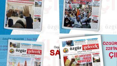 Photo of Özgür Gelecek gazetesinin son sayıları PDF formatında sitemize yüklendi