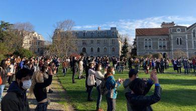 Photo of Boğaziçi'nde gözaltındaki öğrencilerle dayanışma eylemi