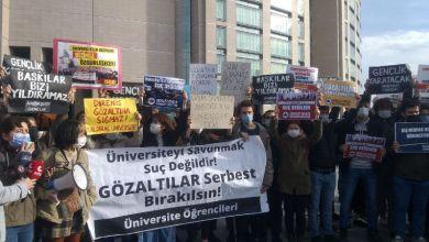 Photo of Boğaziçi eylemleri katıldıkları için gözaltına öğrenciler serbest
