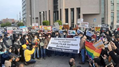 Photo of Çağlayan Adliyesi önünde öğrencilerle dayanışma eylemi!