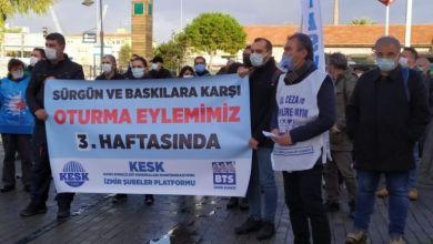 """Photo of İzmir'de  """"Sürgünler Geri Alınsın!"""" eylemiyle dayanışma"""
